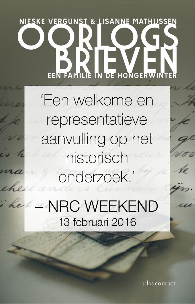 NRC over Oorlogsbrieven