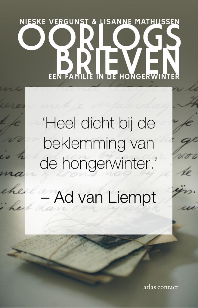 Ad van Liempt over Oorlogbrieven