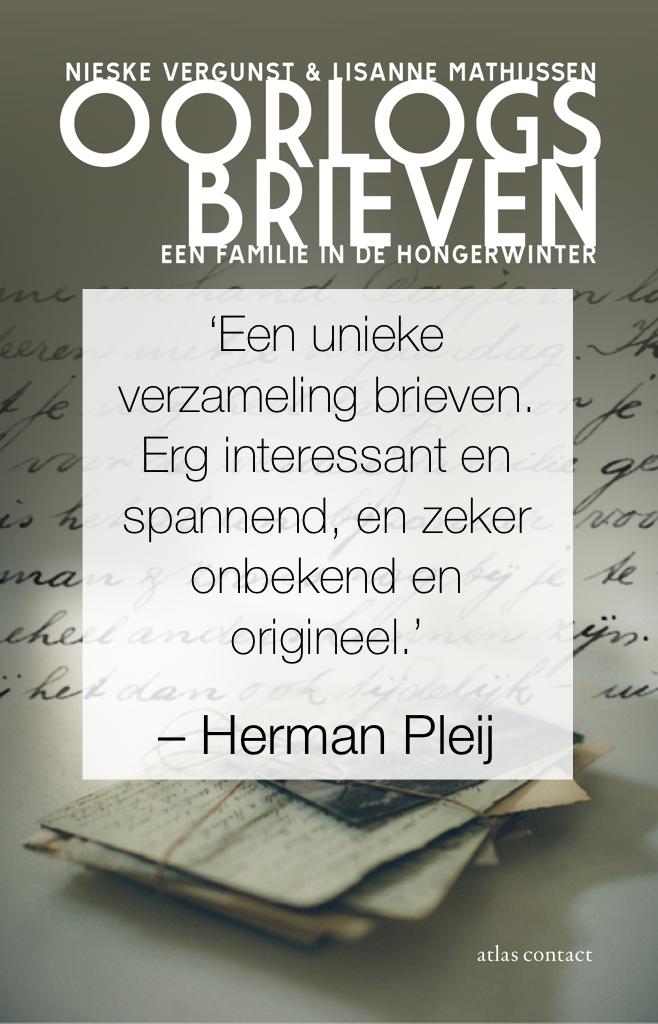 Herman Pleij over Oorlogsbrieven