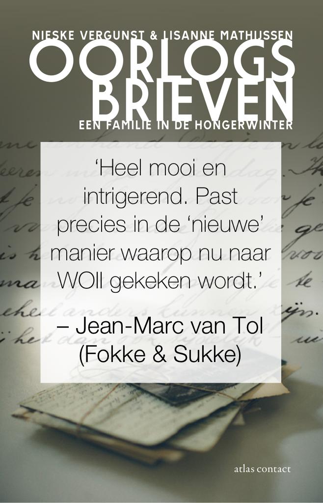 Jean-Marc van Tol over Oorlogsbrieven