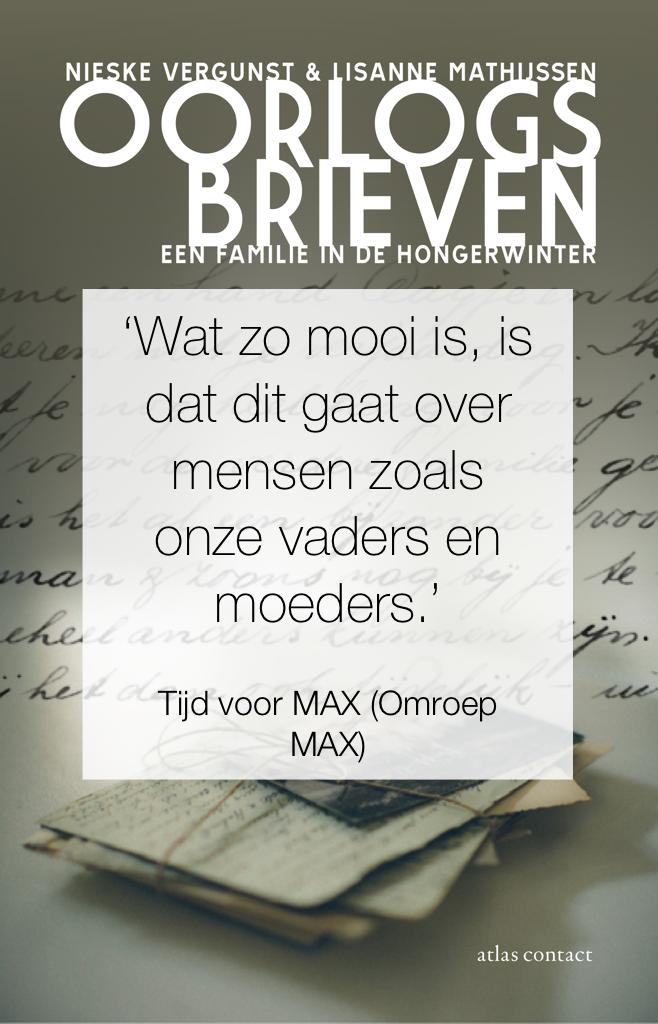 Omroep MAX over Oorlogsbrieven
