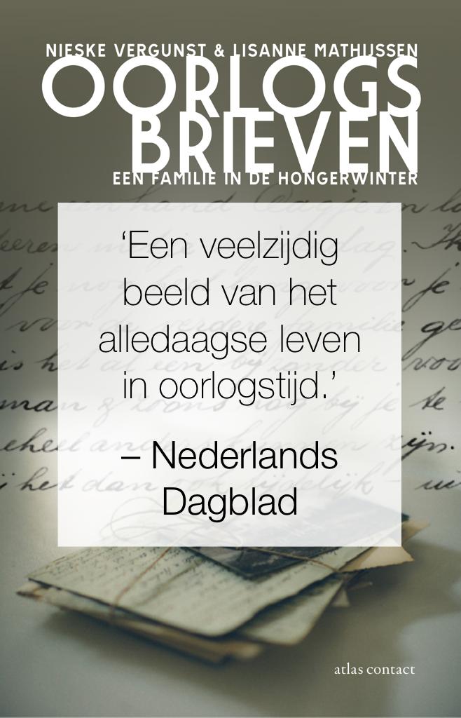 Nederlands Dagblad over Oorlogsbrieven