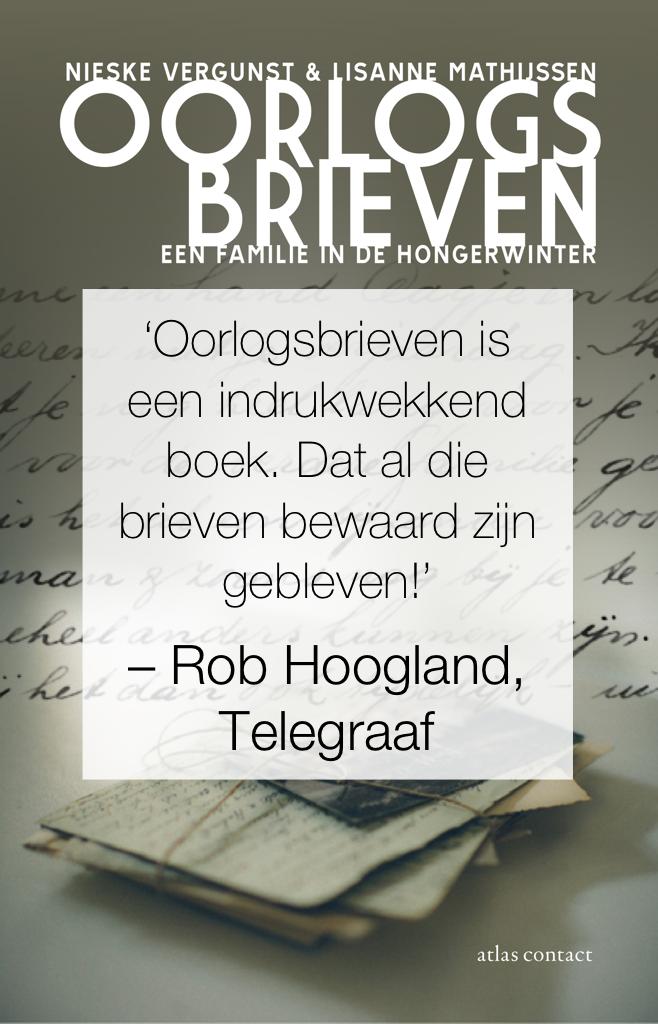 Rob Hoogland over Oorlogsbrieven