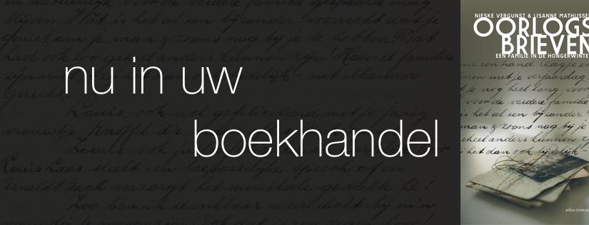 Oorlogsbrieven, nu in uw boekhandel