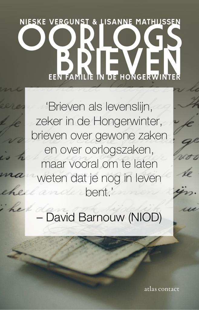 David Barnouw over Oorlogsbrieven